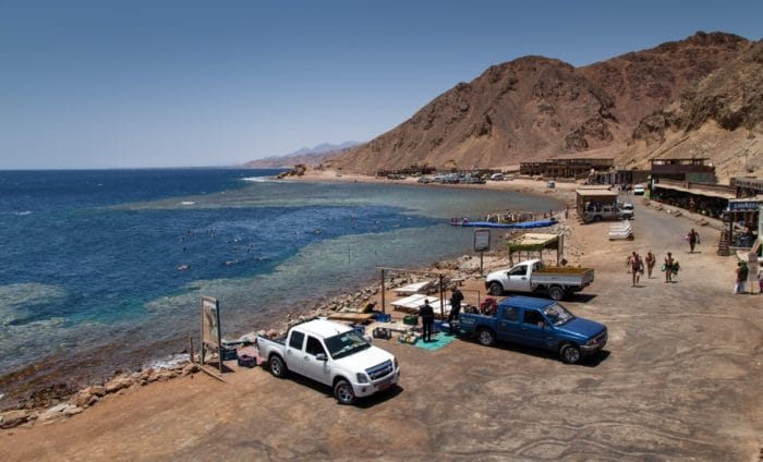 The Blue Hole in Dahab, South Sinai, Egypt