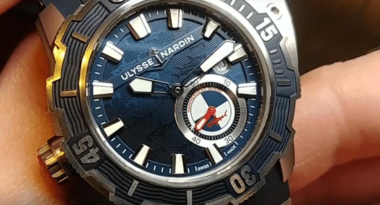 Ulysse Nardin Diver Deep watch