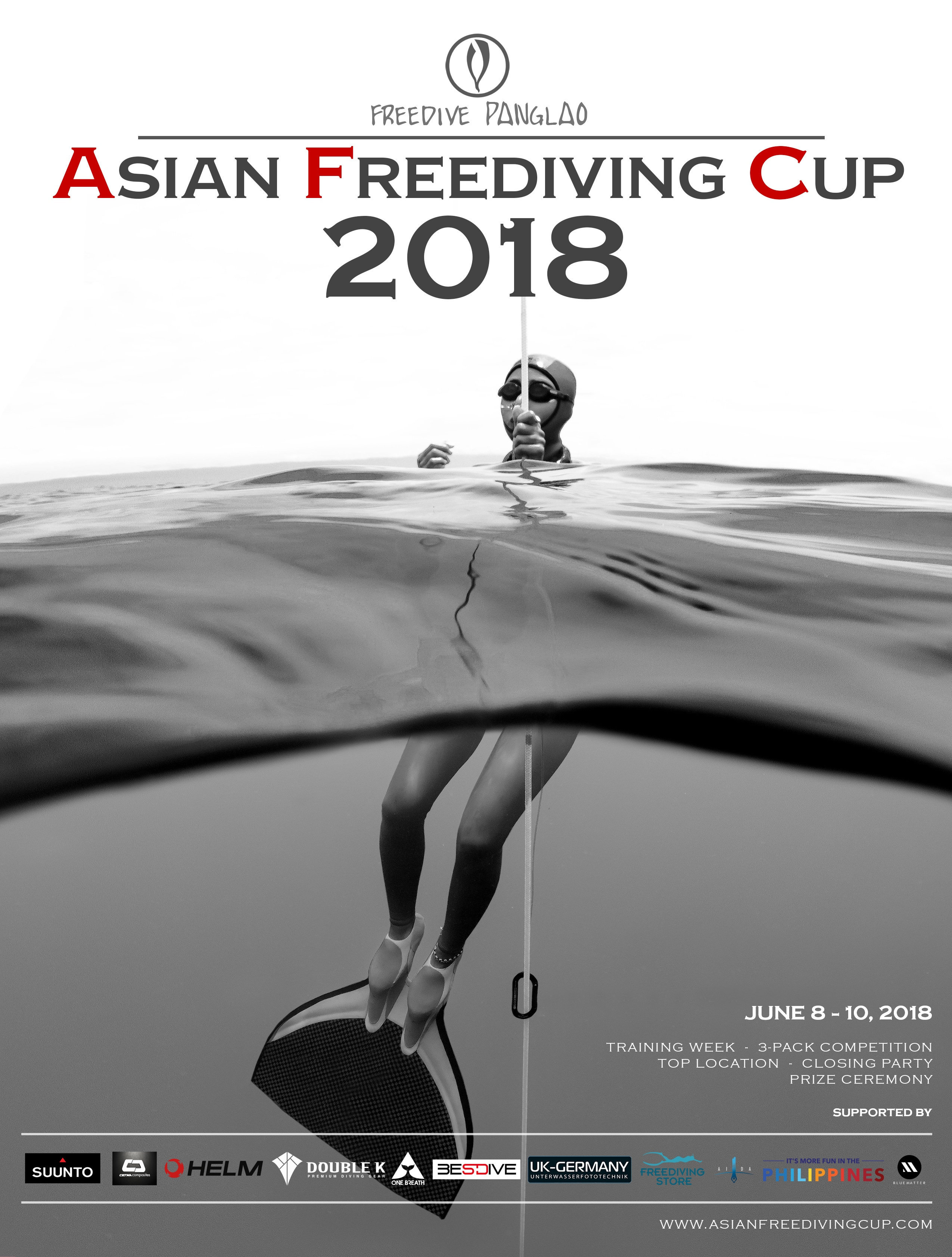Asian Freediving Cup Organizers Announce First List Of Confirmed Athletes