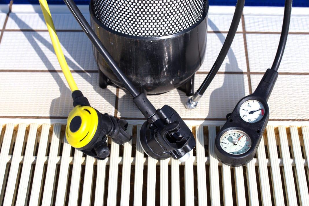 A Scuba Diving Second Stage Regulator