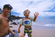 The Paralenz Dive Camera is simple enough for a child to use