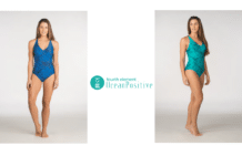 """The Sylvia"" Swimsuit - Ocean Positive Fourth Element"