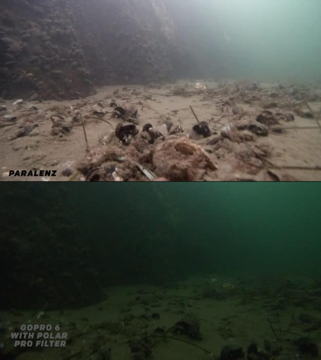 GoPro vs Paralenz