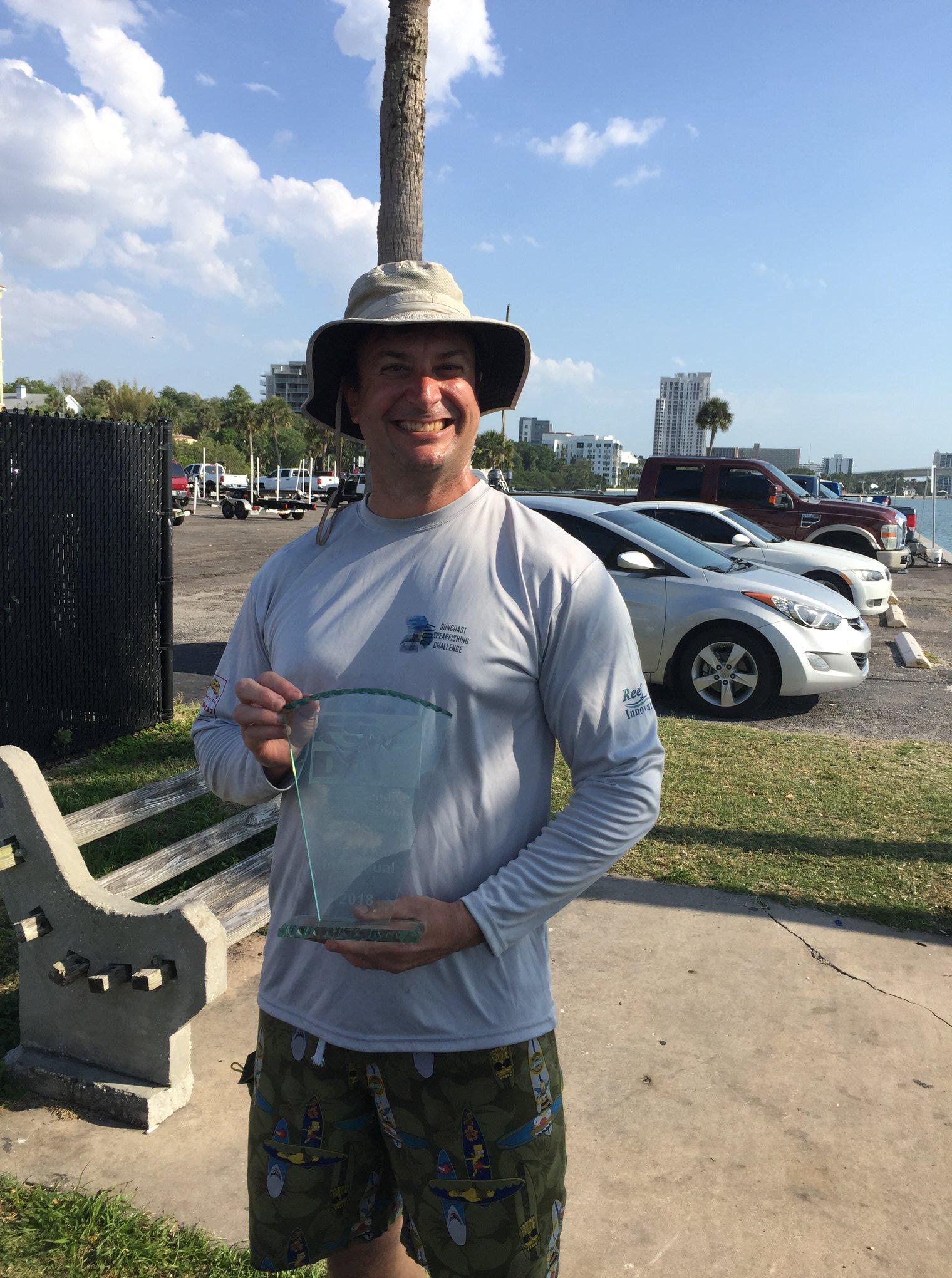 Matthew Brueckner Wins Florida State Individual Spearfishing Championship