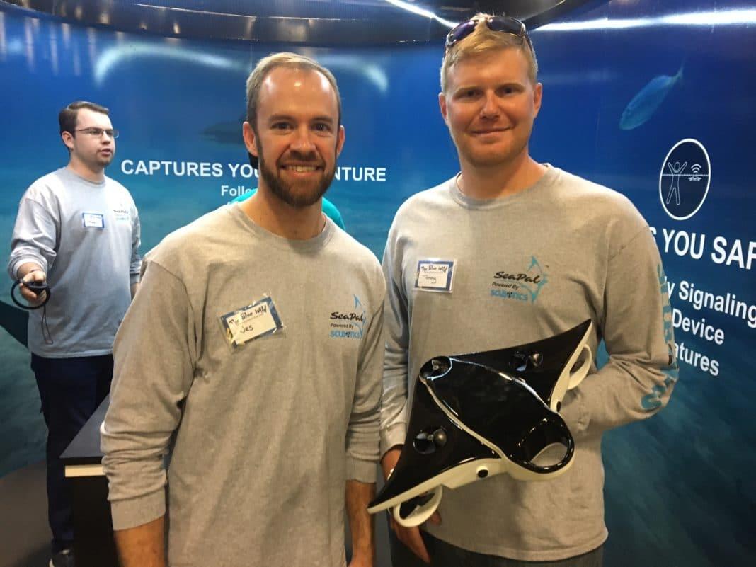 Scubotics Unveils SeaPal Underwater Drone At Blue Wild 2018