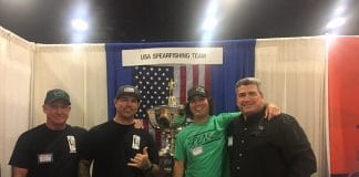 USA Spearfishing Team at Blue Wild 2018