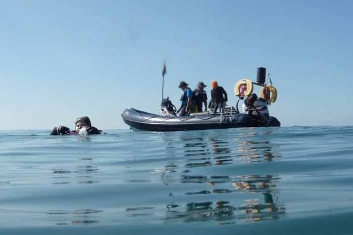 rib scuab diving