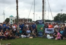 NAUI Green Diver Initiative co-hosts its second annual Gasp–Our Beads of Tampa Bay Cleanup and Survey