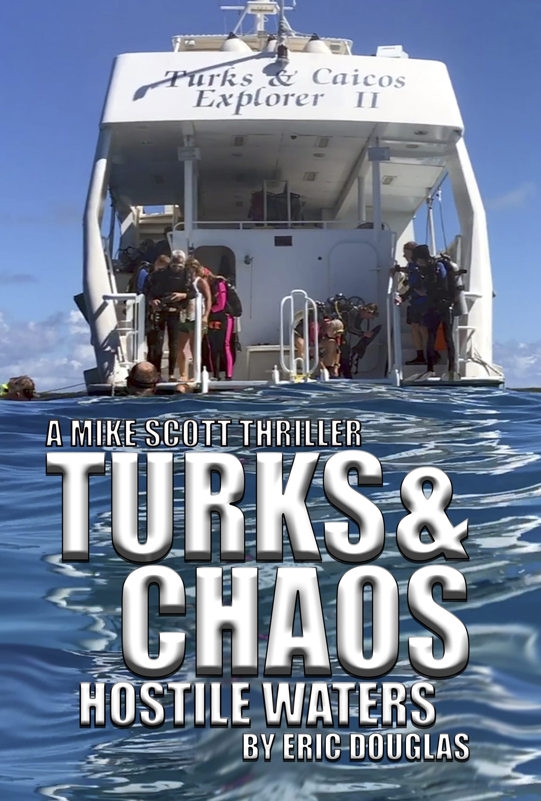 'Turks and Chaos: Hostile Waters' Audiobook Now Available