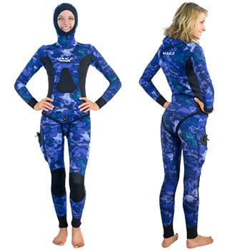Mako open cell wetsuit
