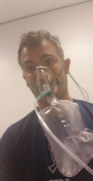 Nick Fazah on oxygen post DCS Hit