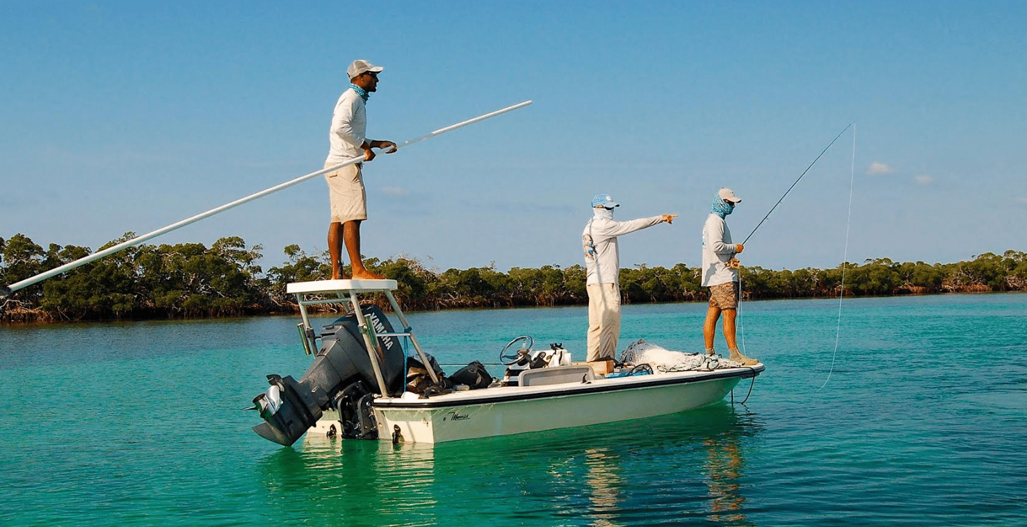 Changing Seas: Experts study bonefish, tarpon and permit, the fishes coveted by fly anglers on the flats.