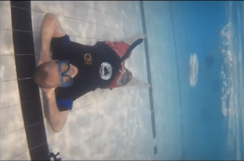 Diver Air Ring World Record