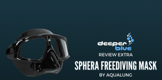 Review Extra - Aqualung Sphera Freediving Mask