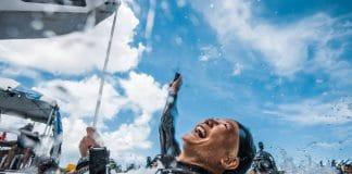 Sayuri Kinoshita - OriginECN Vertical Blue - Day 8. Photo by Alex St Jean