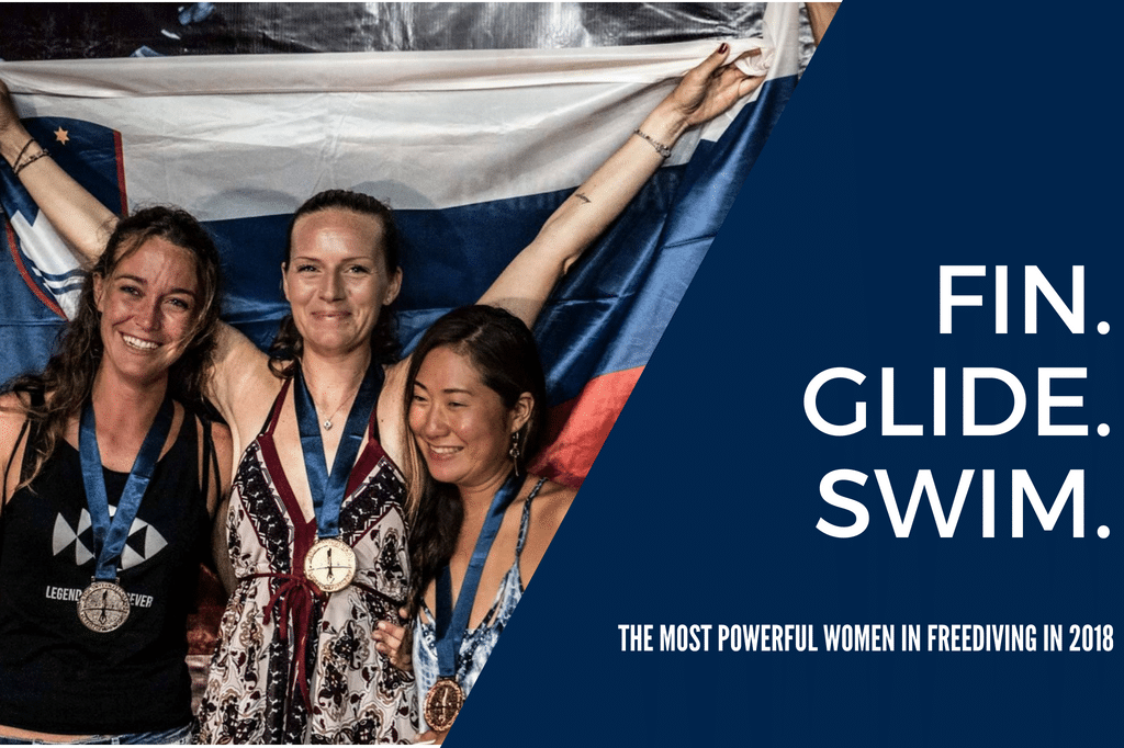 Fin. Glide. Swim. The Most Powerful Women in Freediving