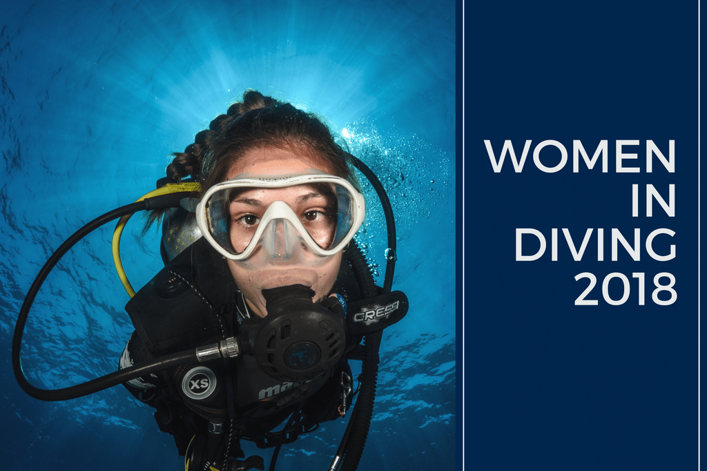 Women in Diving 2018