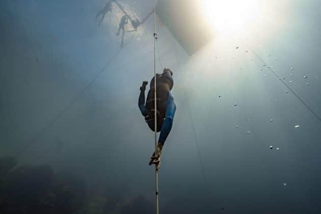 Alex Davis - OriginECN Vertical Blue - Day 1. Photo by Daan Verhoeven