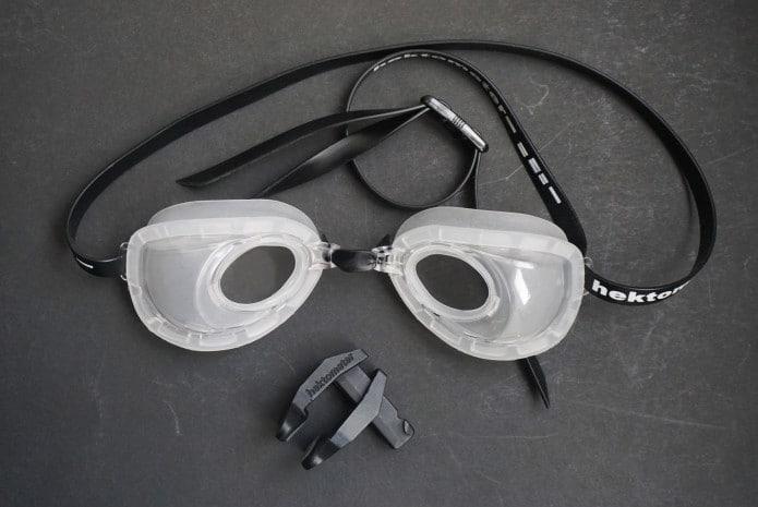 Hektometer fluid goggles
