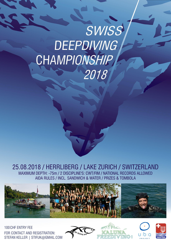 2018 Swiss Deepdiving Championship