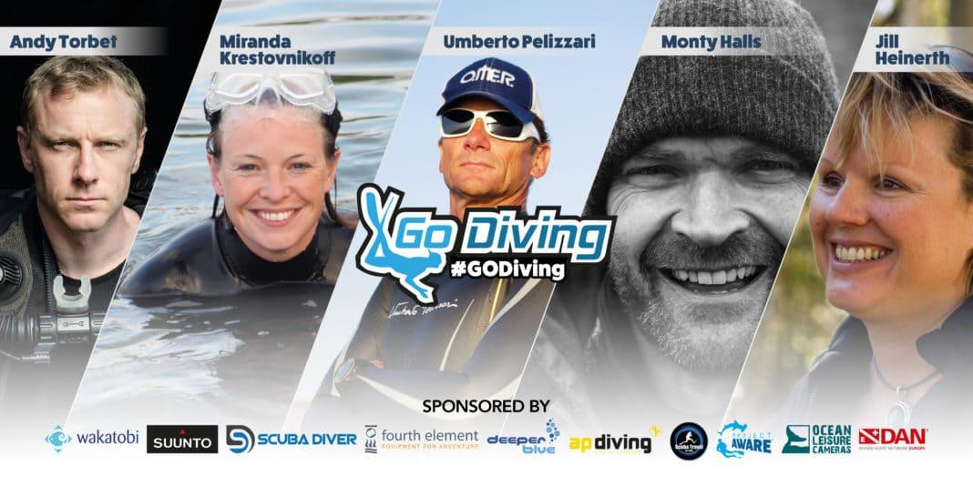 Go Diving Show Headliners