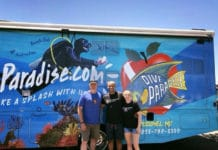 Dive Paradise RV Tours The USA To Honor Renee Applegate