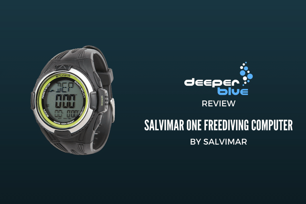 Review: Salvimar One Freediving Computer 2