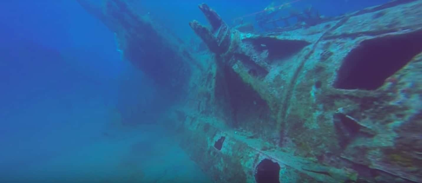 The Wreck of the U-352