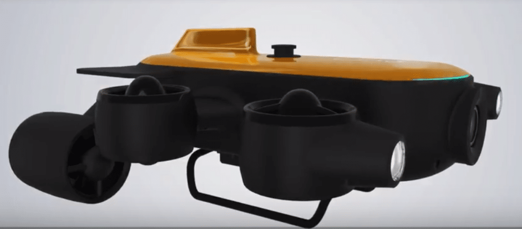 Crowdfunding Campaign Announced For The Deepest-Diving Underwater Drone 2