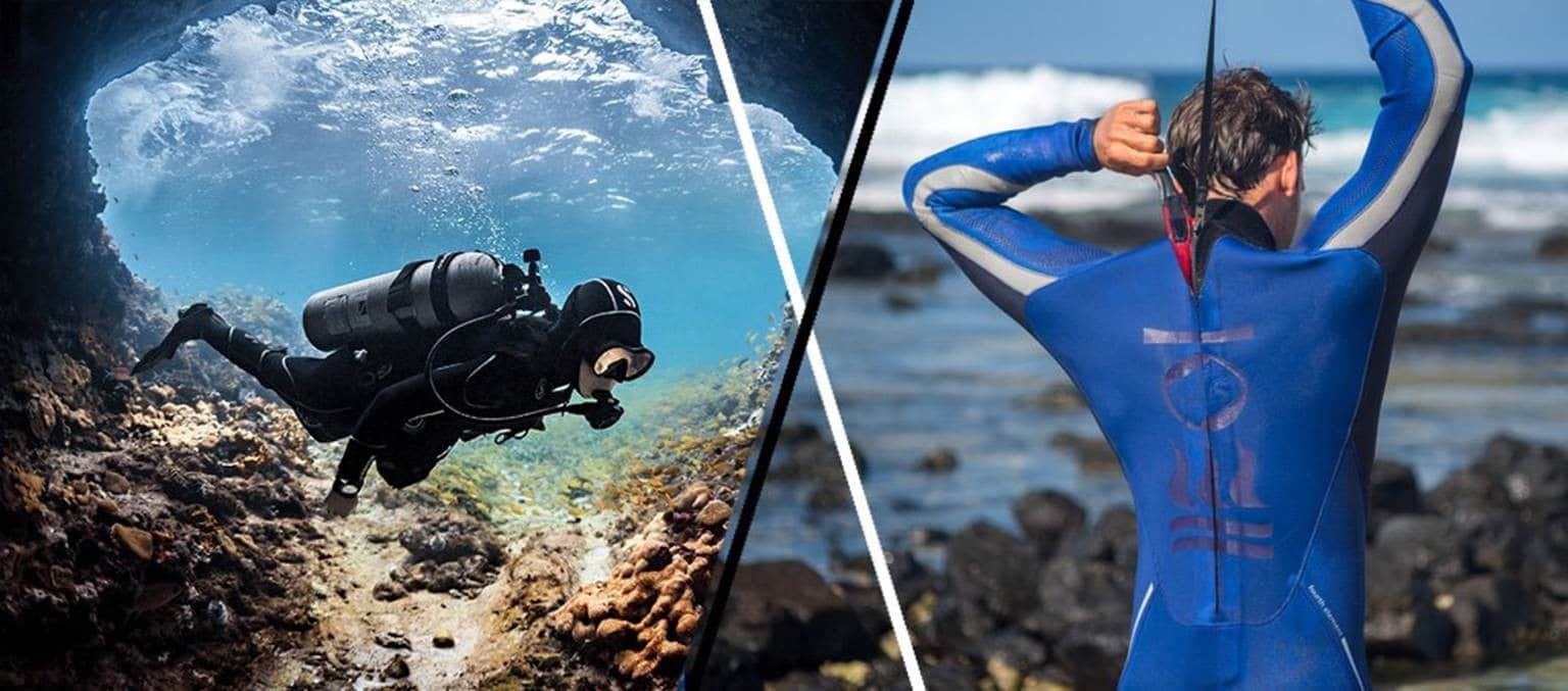 Your Guide to Scuba Diving Wetsuits