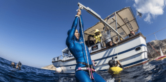 Leuci, Zharkova Take Top Spots At Authentic Big Blue 2018 Freediving Competition