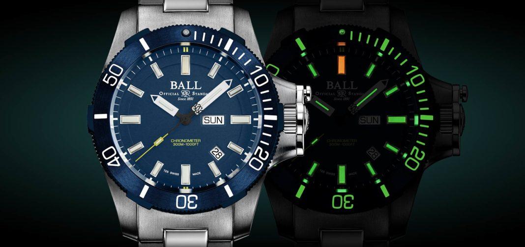 BALL Watch Co.'s Engineer Hydrocarbon Submarine Warfare model