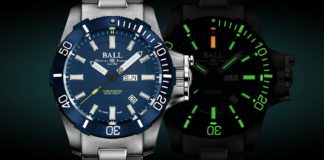 BALL Watch Co.'s Engineer Hydrocarbon Submarine Warfare model