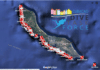 Curacao interactive dive site and dive operator map