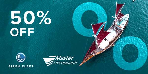 Worldwide Dive and Sail - 50% off sale