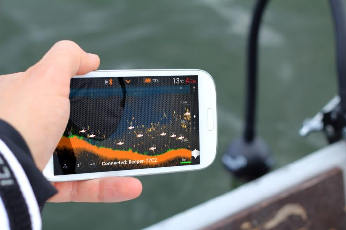 Modern Fish Finders like Deeper are making it easier to find fish