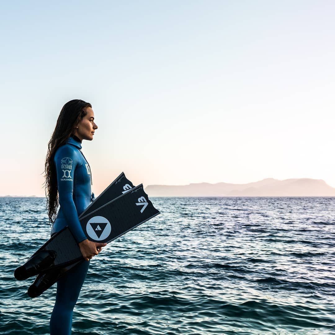 Colombian Sofia Gomez Uribe Sets New CMAS Constant Weight (Bi-fins) World Record