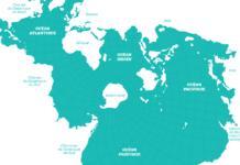 Athelstan Spilhaus's World Ocean Map