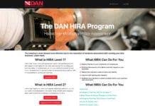 Divers Alert Network's Hazard Identification and Risk Assessment (HIRA) program
