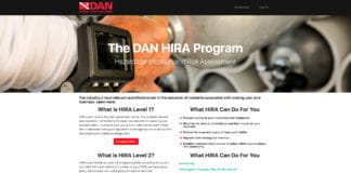 Divers Alert Network's Hazard Identification and Risk Assessment (HIRA) program