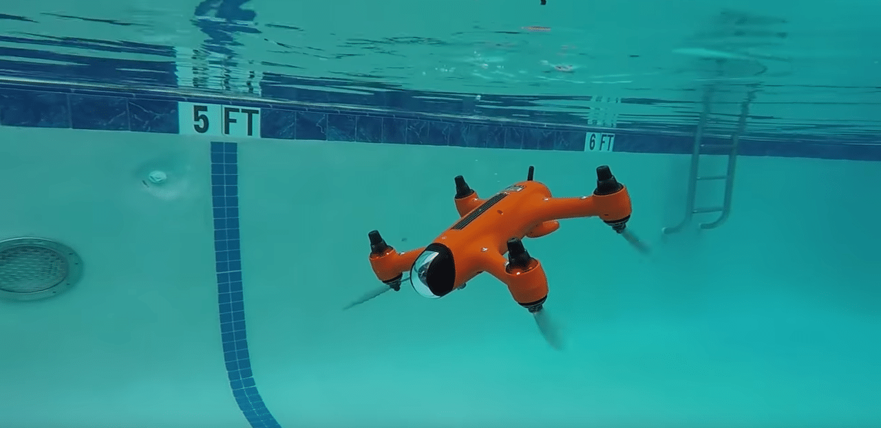 SPRY underwater drone