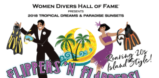 WDHOF 2018 Flippers & Flappers DEMA event
