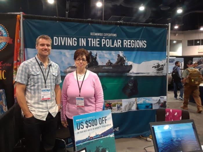 Henrik Enckell and Rima Deeb Granado of Oceanwide Expeditions