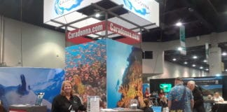 Caradonna Adventures's Doris Pfister at DEMA 2018