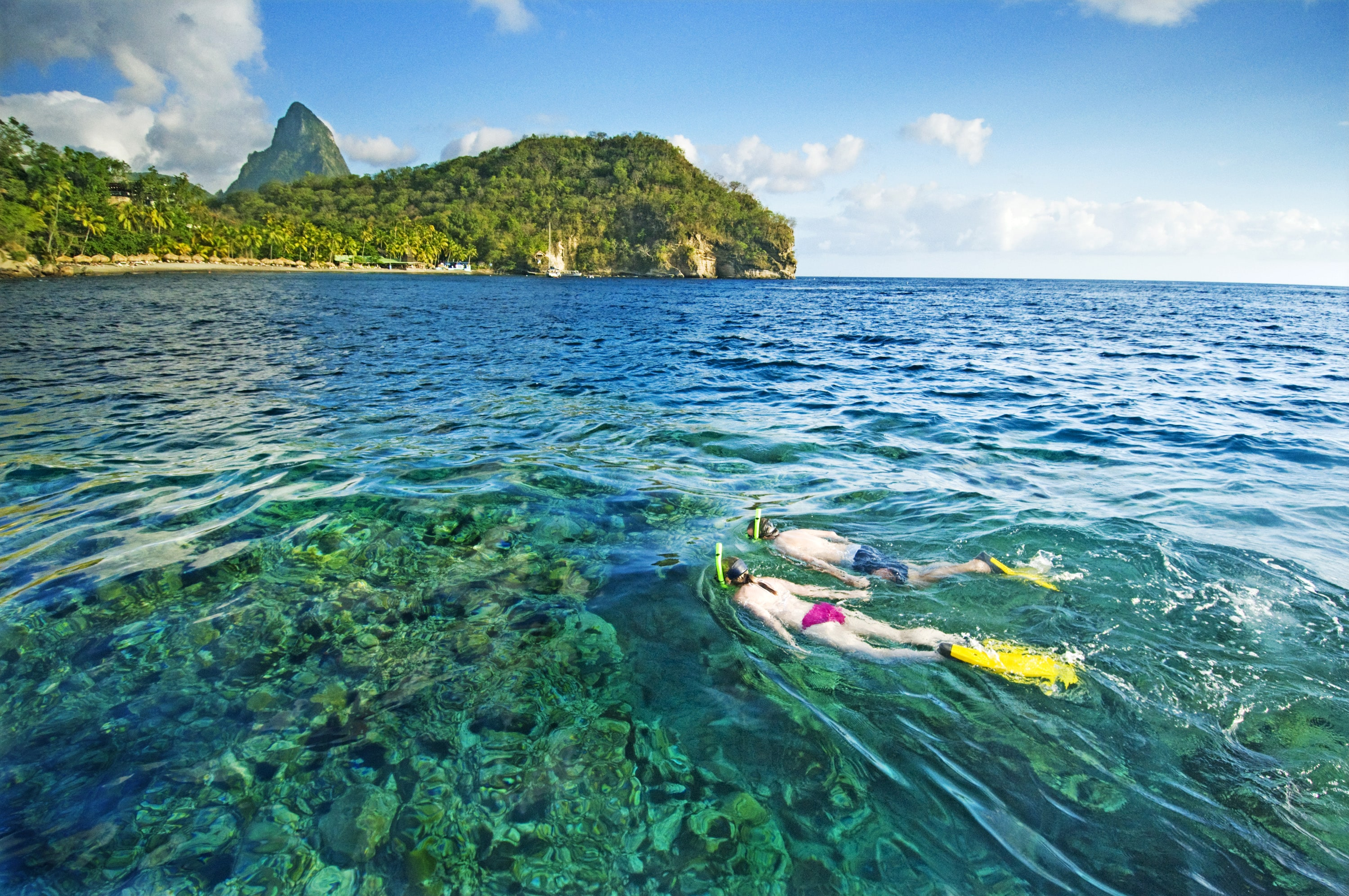 Rooms: Anse Chastanet Resort And Scuba St. Lucia To Train