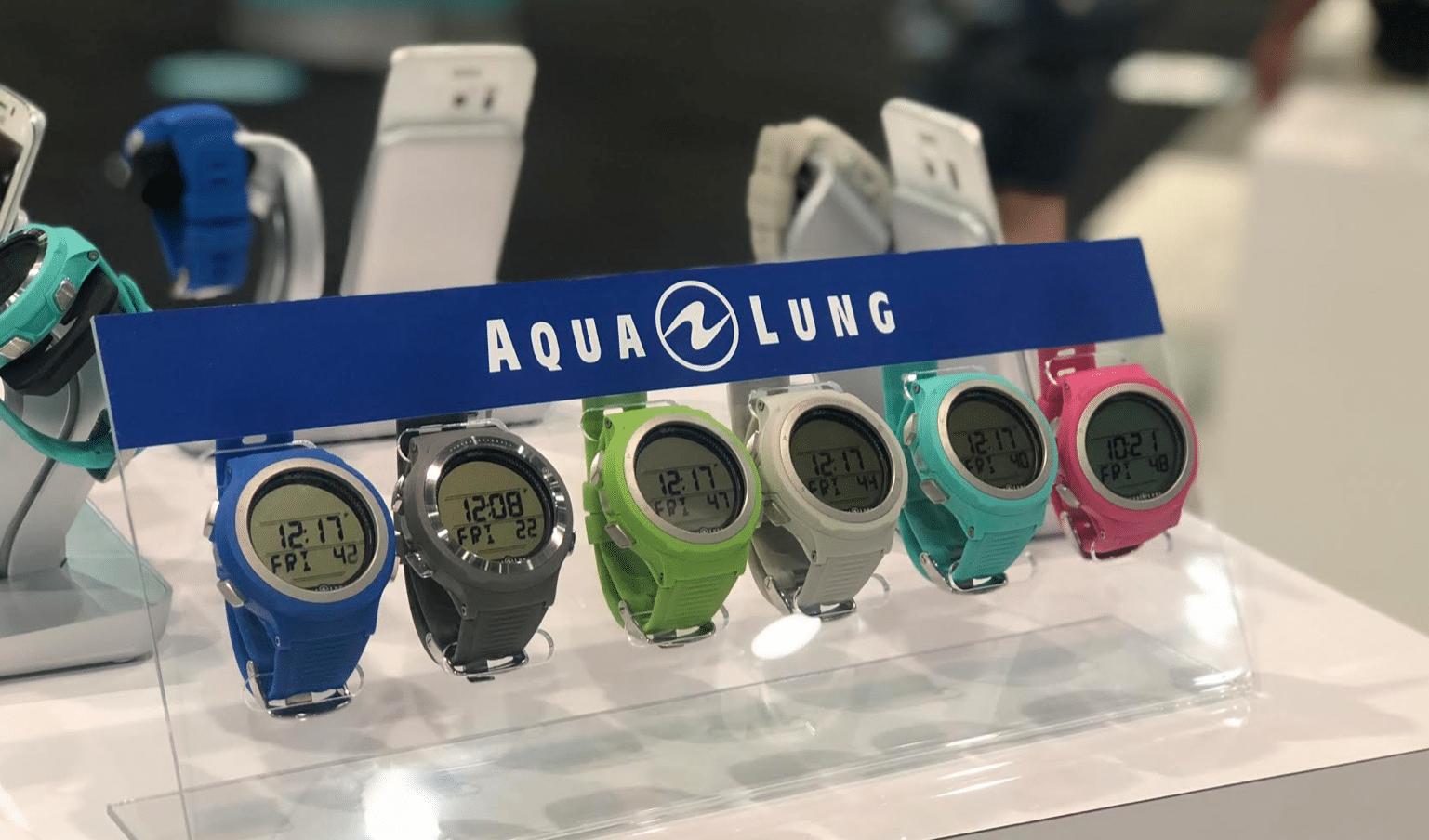 AquaLung's new I200C dive watch.