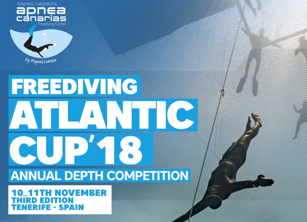 Training For 2018 Atlantic Freediving Cup Taking Place This Week