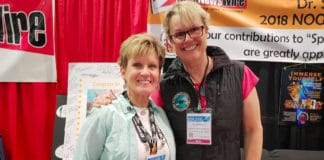 Renee Power and Jill Heinerth