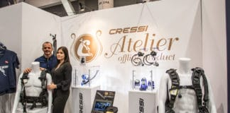 """Cressi Atelier"" offers an exclusive line of products brick & mortar and not available on the internet (photo by Alex St. Jean)"