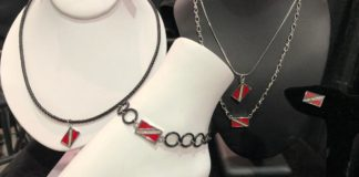 Dive Flag Jewelry makes a splash at DEMA